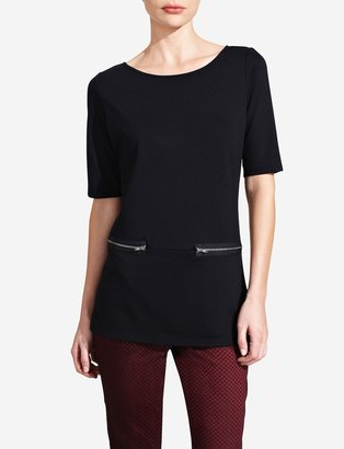 The Limited Zipper Ponte Tunic