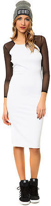 *MKL Collective The Own The Night Dress in White and Black