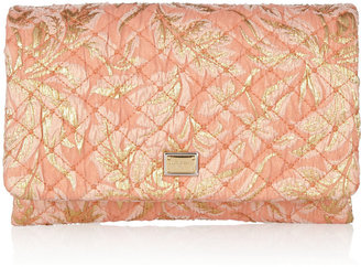 Dolce & Gabbana Quilted jacquard clutch