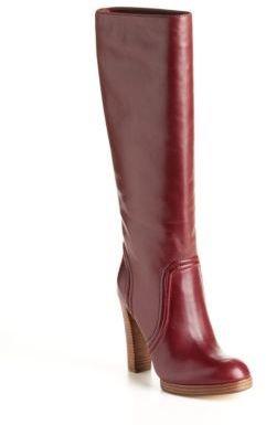 KORS Aila Leather Boots