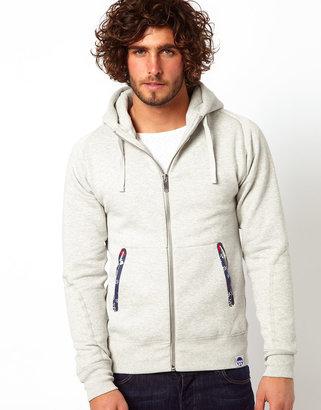 G Star G-Star Marc Newson Hooded Sweatshirt Zipthrough