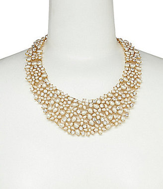 Kate Spade Mini Bouquet Pearl Statement Necklace