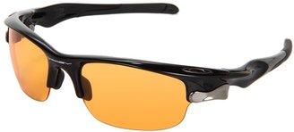 Oakley Fast Jacket (Polished Black/G30 Iridium Lens) - Eyewear