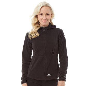 Trespass Womens Marathon Fleece Black