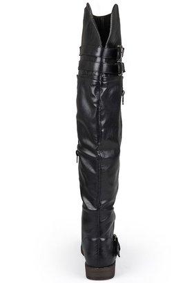 Journee Collection Kimberley Over-the-Knee Boots - Women