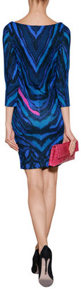 Just Cavalli Jersey Printed Dress