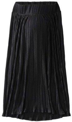Liz Lange for Target® Maternity Pleated Maxi Skirt - Black