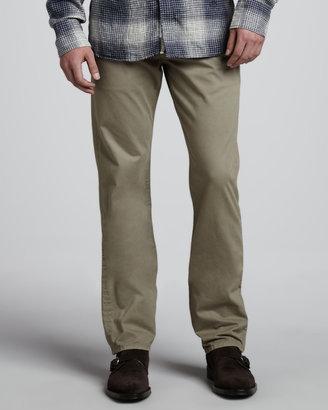 Rag and Bone Rag & Bone Brushed Desert Straight-Leg Pants