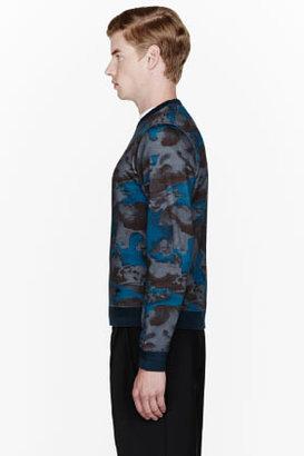 Kenzo Deep teal Night Sky sweatshirt
