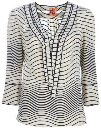 Tory Burch striped blouse