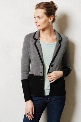 Anthropologie Birdseye Sweater Blazer