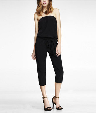 Express Strapless Cropped Jumpsuit