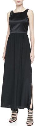 Amanda Uprichard Loves Cusp Sleeveless Combo Maxi Dress