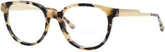 Stella McCartney Round Fashion Glasses, Spotty Tortoise