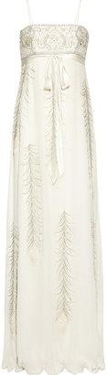 Matthew Williamson Embellished Silk-Chiffon Gown