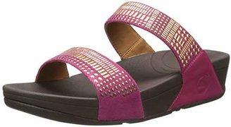 FitFlop Women's Aztec Chada Slide Sandal $44.78 thestylecure.com