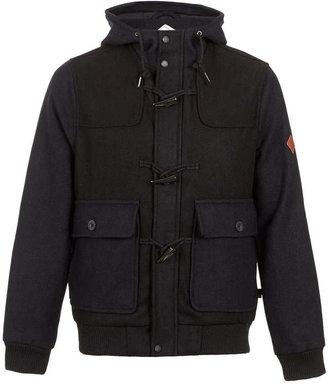 Topman Bellfield 'Miko' Navy And Black Bomber Jacket*