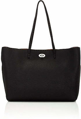 Fendi Women's Selleria Medium Leather Tote - Nero
