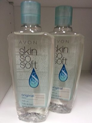 Lot of 2 Avon Skin So Soft SSS Original Bath Oil 16.9 oz ea New & Sealed! $27 thestylecure.com