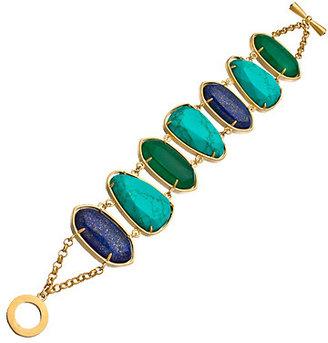 Carolee Blue Multi Stone Bracelet