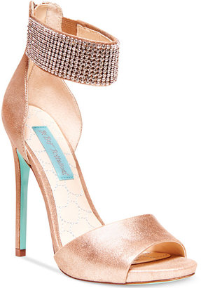 Betsey Johnson Blue by Unite Ankle Strap Evening Sandals