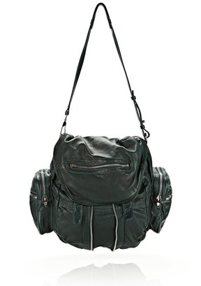 Alexander Wang Marti In Washed Green With Nickel