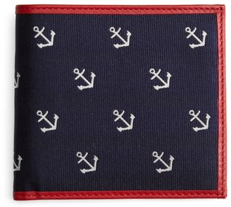 Brooks Brothers Anchor Repp Euro Wallet