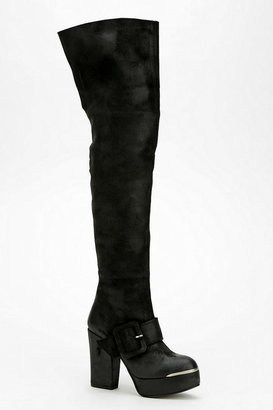 Sixty Seven Sixtyseven Buckled Platform Over-The-Knee Boot
