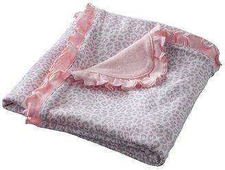 Carter's cheetah & dot blanket