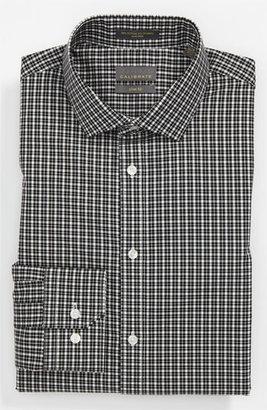 Calibrate Slim Fit Non-Iron Dress Shirt Black 17 - 32/33