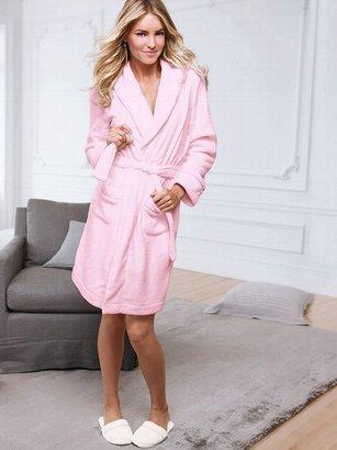 Victoria's Secret Cozy Short Fleece Robe