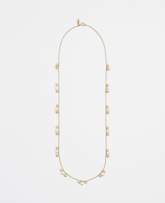 Ann Taylor Modern Classic Beaded Necklace