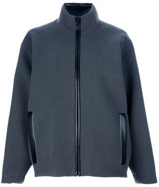 Balenciaga oversized wool jacket