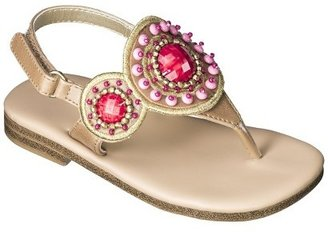 Cherokee Toddler Girl's Jaslene Thong Sandals - Assorted colors