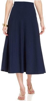 American Living A-Line Midi Skirt