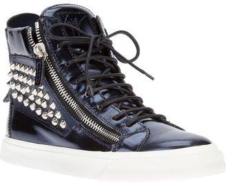 Giuseppe Zanotti Design studded hi-top sneaker
