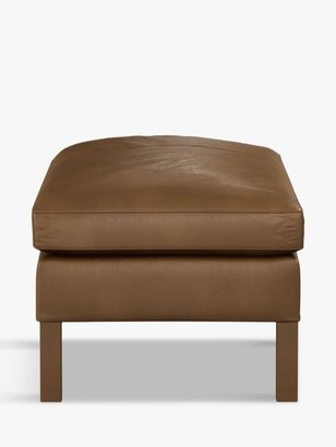 Halo Groucho Leather Footstool