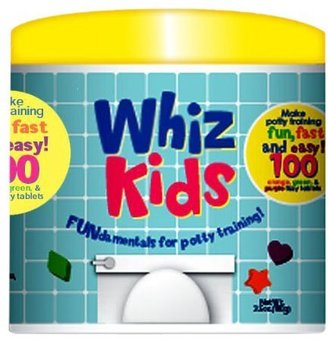 Color My Bath Whiz Kids 100 Potty Training Tablets