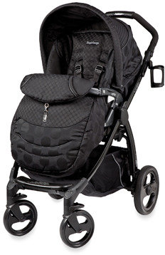 Peg Perego Book Plus Reversible Stroller - Pois Black