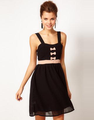 Vero Moda Bow Skater Dress