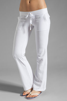Juicy Couture Terry Snap Pocket Pant