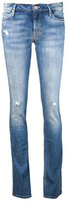 Mother 'Runaway skinny' flare jean
