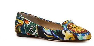 Dolce & Gabbana Embroidered Fabric Flat