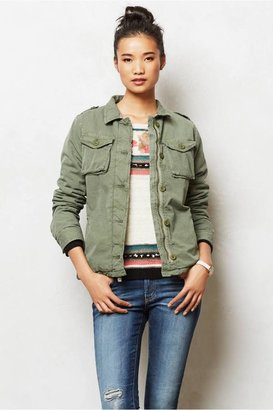 Anthropologie Dylan Army Jacket