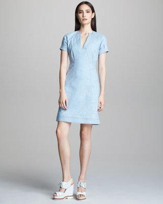 Derek Lam A-line Denim Dress