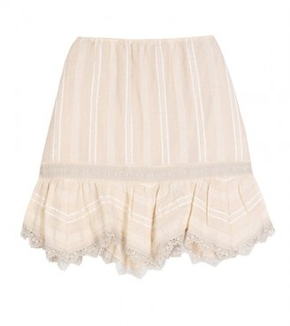 Anna Sui FOLKLORE STYLE SKIRT