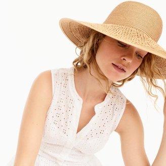 Textured summer straw hat $34.50 thestylecure.com