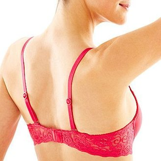 Lily of France 2-pack Smooth Lace Underwire Pushup Bra