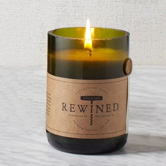 west elm Rewined Green Glass Filled Candles