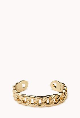 Forever 21 Classic Curb Chain Cuff